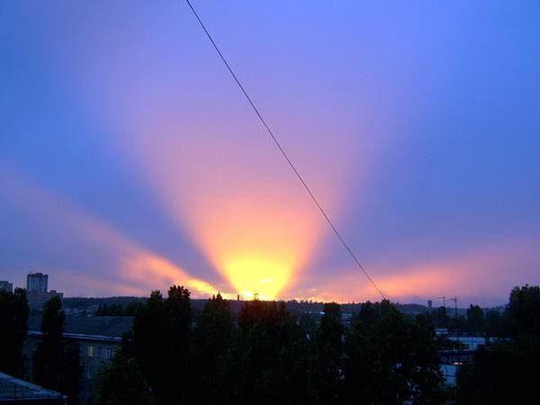 Закат надТольятти