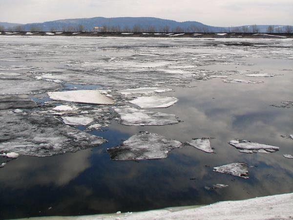 Вид наВолгу снабережной Комсомольского района Тольятти