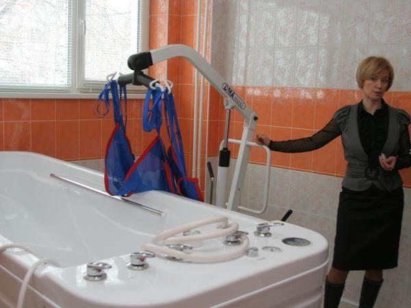 Гидрореабилитационное отделение центра «Преодоление» Тольятти