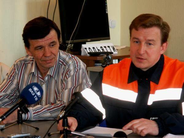 Андрей Дербенев (справа) иСергей Хабибуллин