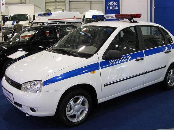 Спецавтомобиль набазе LADA KALINA