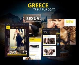 Шубы из Греции от компании Greek Furs