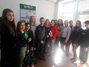 Экскурсия  в страховую компанию «РЕСО-ГАРАНТИЯ» г. Прохладного
