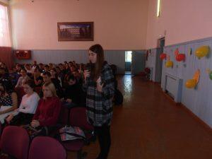 Встреча студенческого актива с депутатом Государственной Думы РФ Марьяш И.Е.