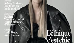 На обложке L'OFFICIEL Paris появилась модель Ангелина Вангор