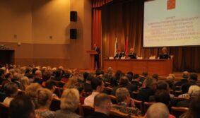 Михаил Романов принял участие в Отчете Администрации Фрунзенского района перед общественностью