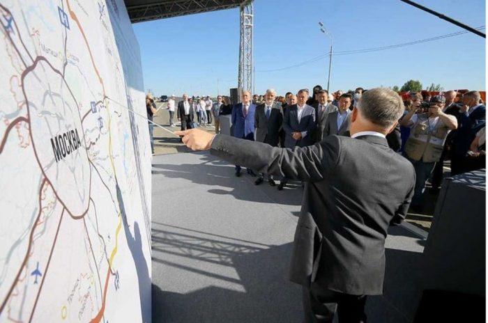 Строительные работы на одном из участков ЦКАД-5 выполнила компания ИФСК «АРКС»