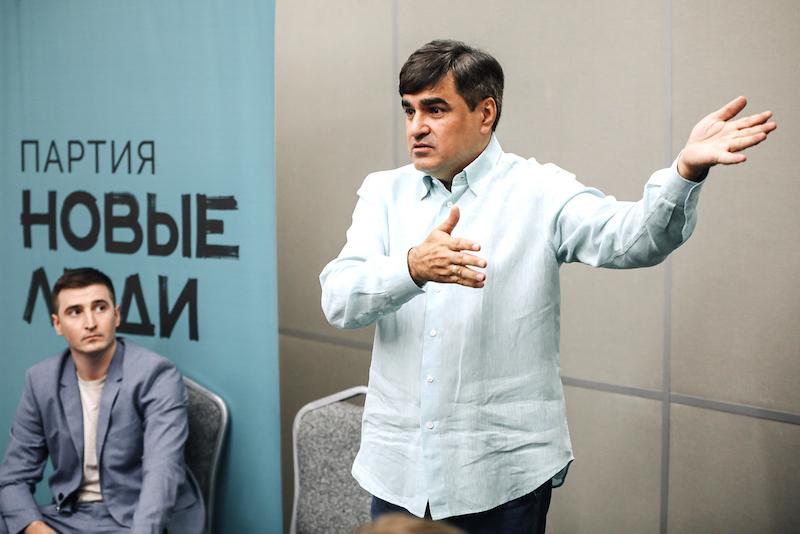 Партия «Новые люди» выдвинули 600 человек на выборы в регионах