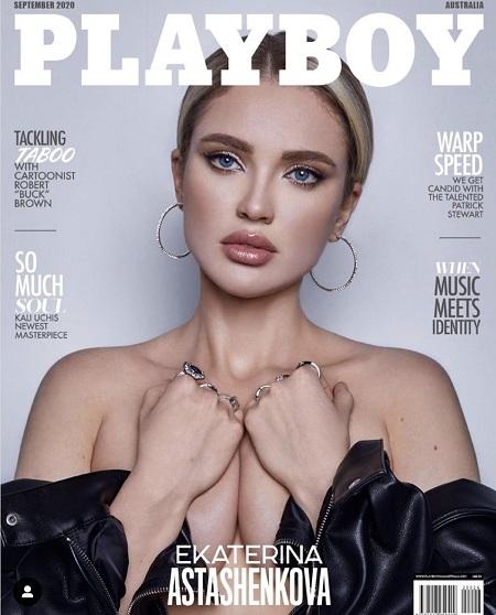 Российская модель Екатерина Асташенкова снялась для обложки австралийского Playboy