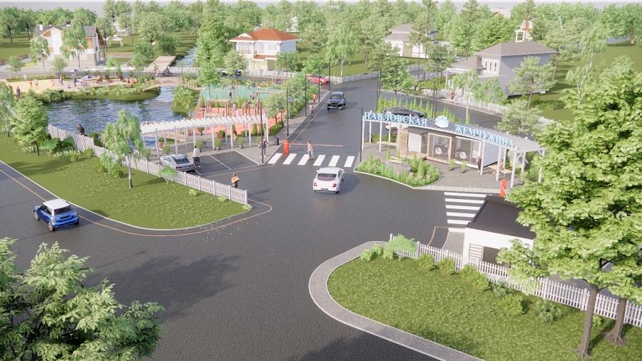 Рядом с Санкт-Петербургом началось строительство коттеджного поселка на 1000 жителей