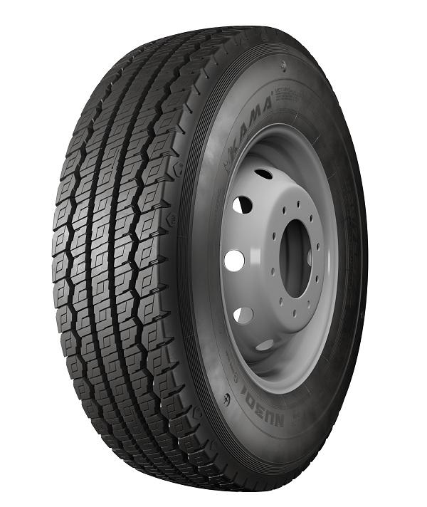KAMA TYRES производит шины с логотипом Мострансавто