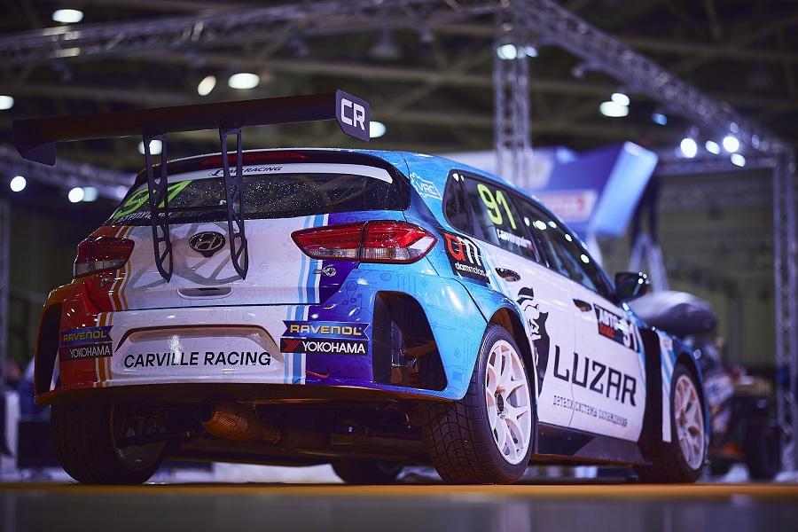 Позиции дилера Hyundai компании «Аларм-Моторс» укрепляет партнерство с гоночной командой Carville Racing