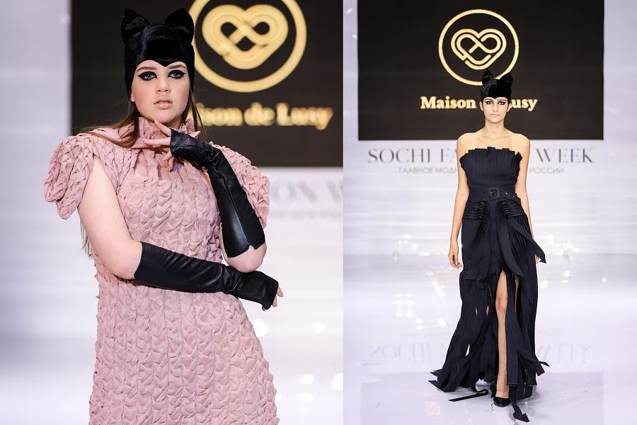 Публика Недели моды в Сочи благосклонно приняла коллекцию бренда Maison de Lusy