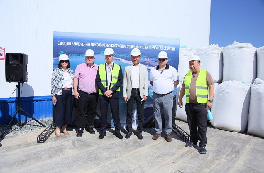 История роста: «KazCenosphere's» запустила производство инновационных материалов в Павлодаре