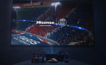 Hisense продолжает сотрудничество с ПСЖ в статусе официального партнера