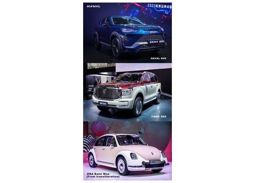 GWM представит более 10 новинок для своих пяти брендов на автосалоне в Чэнду