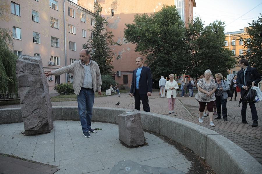 Михаил Романов обсудил проблемные вопросы жителей Центрального района Санкт-Петербурга