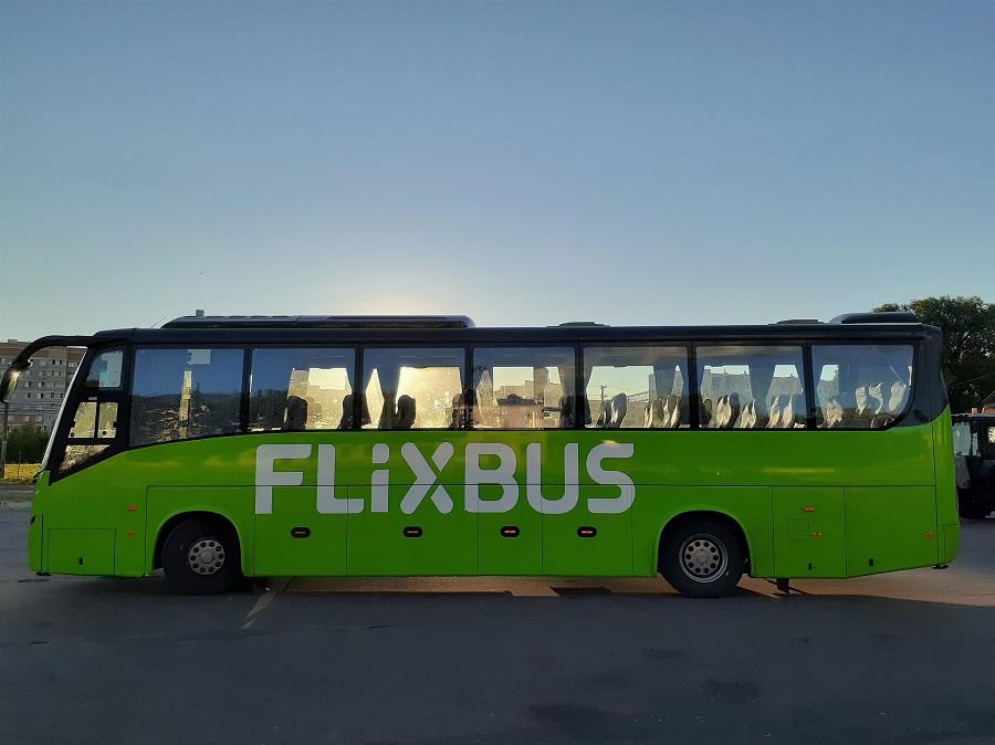 Новый маршрут в России запустила в сентябре 2021 года FlixBus